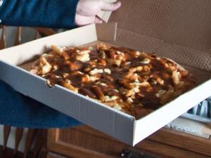 gravy pizza